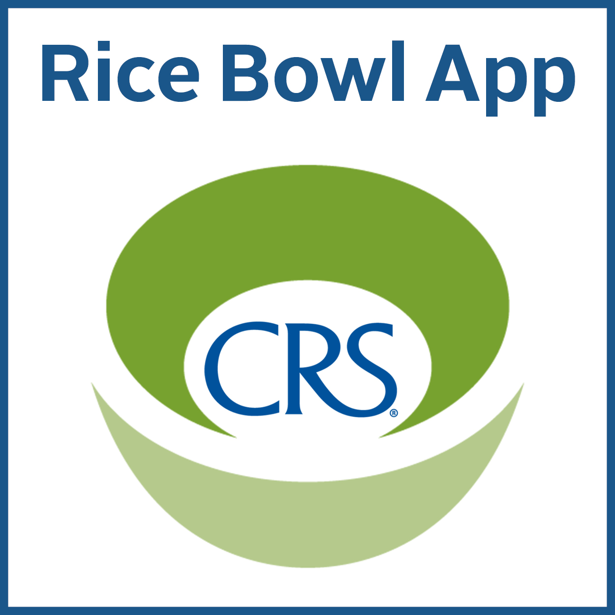 CRS Rice Bowl | Catholic Relief Services - Parish Vitality and Mission